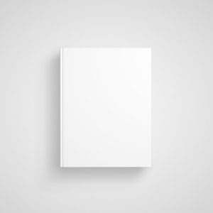 Book with white cover